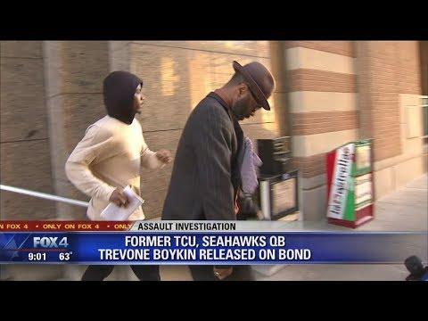 Ex-TCU/Seahawks QB Trevone Boykin released from Tarrant County Jail on bond