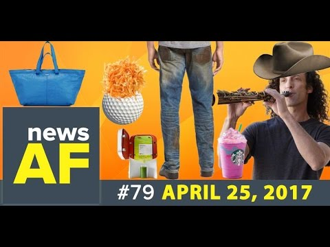 Golf Ball Hash Browns are News AF - 4/25/17
