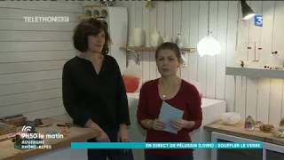 Découverte : Florence Lemoine, verrier d'art à Pélussin (Loire) - 1