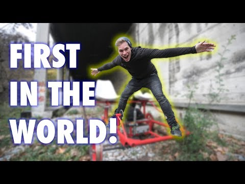 I WAS THE FIRST PERSON IN THE WORLD TO DO THIS!