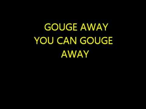 THE PIXIES GOUGE AWAY WITH LYRICS