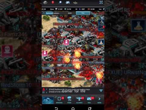 Mobile Strike - SVS KE crazy kills , Rallies , zeroing 48 KT Maxed player