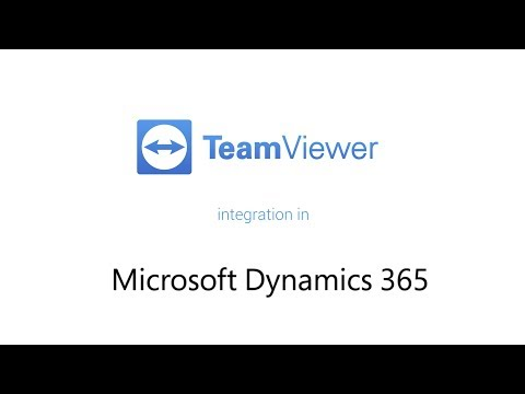TeamViewer Remote Support for Dynamics 365