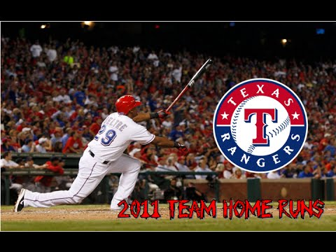 Texas Rangers | 2011 Home Runs (210)