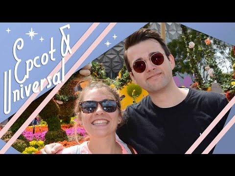 Epcot & Universal Mardi Gras | Walt Disney World & Universal Studios Vlog | March 2017 | Adam Hattan