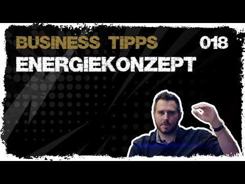 business tipps #018: Das Energiekonzept - Das Leben als Akku