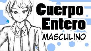 Como dibujar Manga | Cuerpo entero Masculino