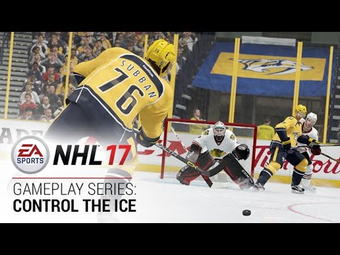 NHL 17 | Gameplay Series: Control The Ice Trailer | Xbox One, PS4
