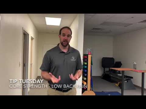 Complete Game Physical Therapy: Core Strength to Help Low Back Pain