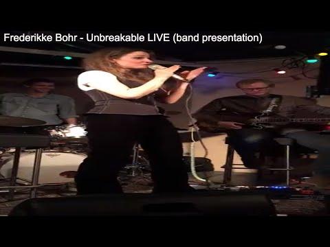 Frederikke Bohr - Unbreakable LIVE (band presentation) - Cafe Nutid Copenhagen - February 24, 2018