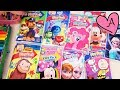 Video de colorear personajes de Patrulla Canina, Intensamente, MLP, Frozen, Snoopy, Mickey y Minnie