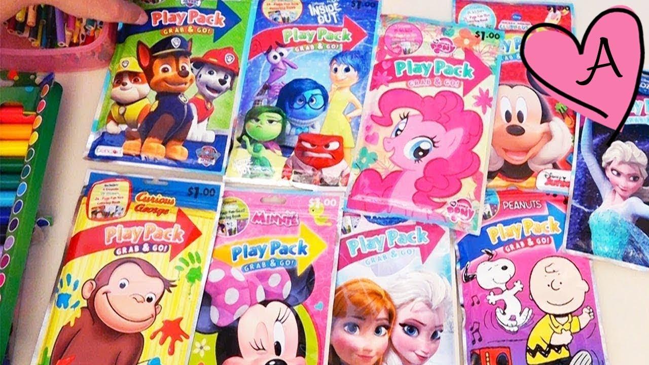 bd9ca715c Dibujos de colorear para niñas y niños Patrulla Canina, Frozen ...