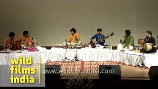 Rhythm Divine by Tabla maestro Hafeez Ahmed Alvi and group - Delhi