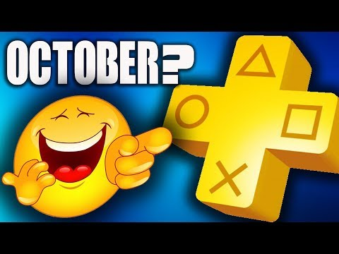 PS PLUS OCTOBER 2018 PS4 free games Rumor -  NEW PS4 GAMES -  FREE PS4 THEME