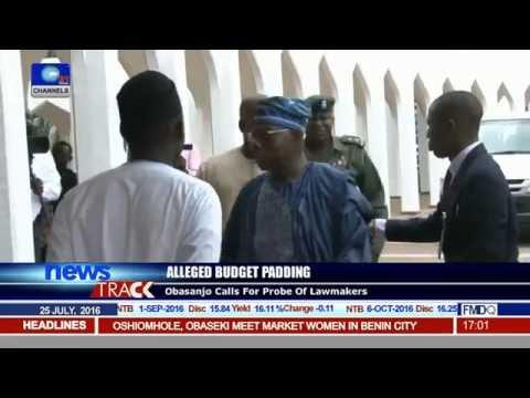 Obasanjo Calls For Probe Of Lawmakers