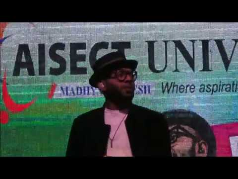 Benny Dayal's performance at AISECT