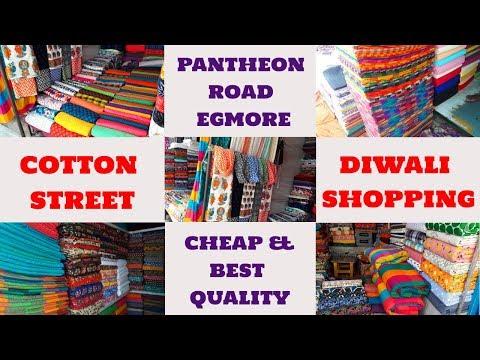 Pantheon Road Cotton Street Egmore   Pantheon Road Vlog in Tamil   Diwali Shopping Haul