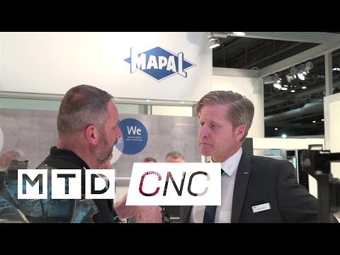 Mapal show their tooling solutions at MACH 2018