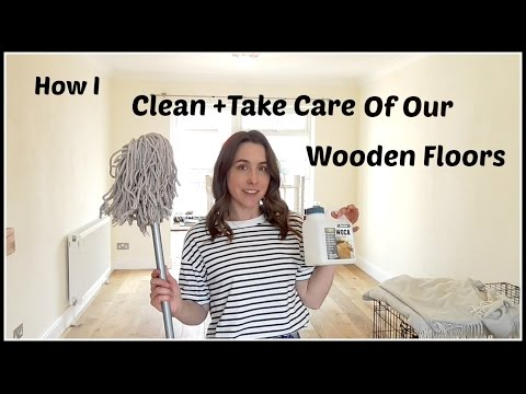 How To | Clean and Take Care of Wooden Floors | Engineered Wood | Charlotte White