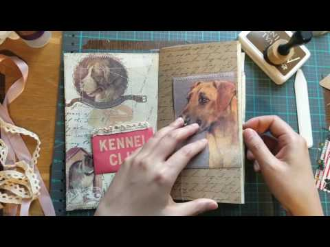 Making a Traveler's Notebook insert Part 1