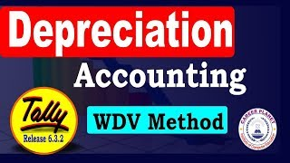 Depreciation Entry in Tally ERP 9 with GST Part- 79 | Depreciation Accounting in Tally