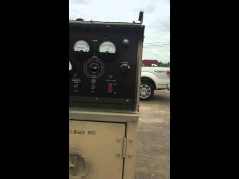 Military Generator Fermont MEP-803A 10KW 60 HZ Diesel Engine Generator Set,  1,705 HRS
