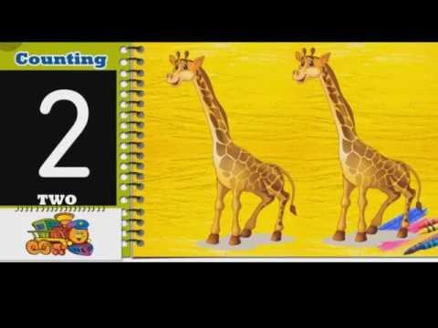 หัดนับเลข 1-20 ภาษาอังกฤษ เรียนรู้อย่างสนุก Learning&Fun กับไทยคิดส์ ทีวี