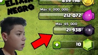 A SAGA DO ELIXIR NEGRO #1 - CLASH OF CLANS