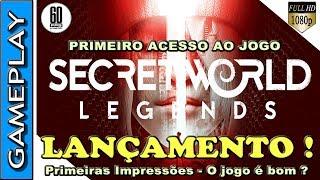 🔴 THE SECRET WORLD LEGENDS - PRIMEIRAS IMPRESSÕES DO REBOOT DO MMORPG CONTEMPORÂNEO DA FUNCON