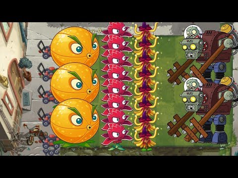 Plants vs Zombies 2 - Citron, Red Stinger and Witch Hazel