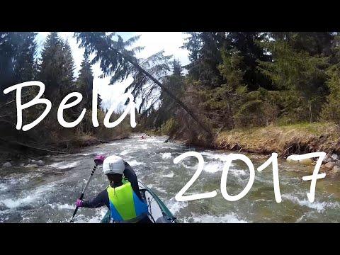 Rafting Belá river 2017 Slovakia, Podbanské-Pribilina HD(Sjcam)