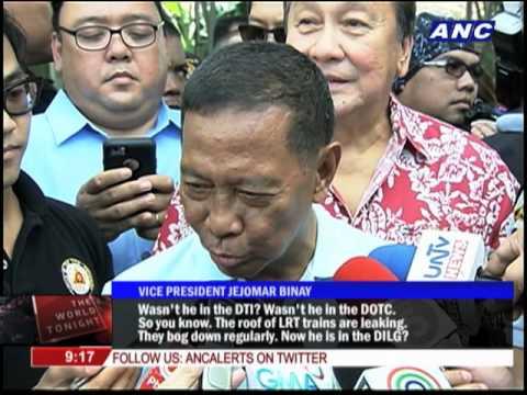 Binay: I beat Mar Roxas once