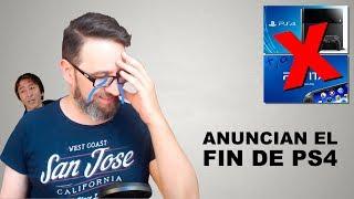 Anuncian el inicio del fin para PS4