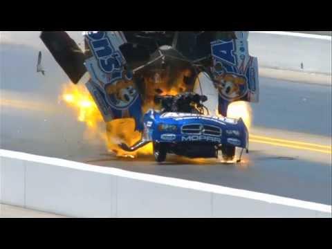 2012 NHRA Matt Hagan Explosion in Charlotte