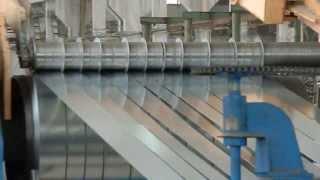 видео Поперечная резка рулонной стали в промышленности
