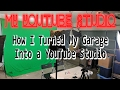 How To Build a YouTube Studio from Scratch