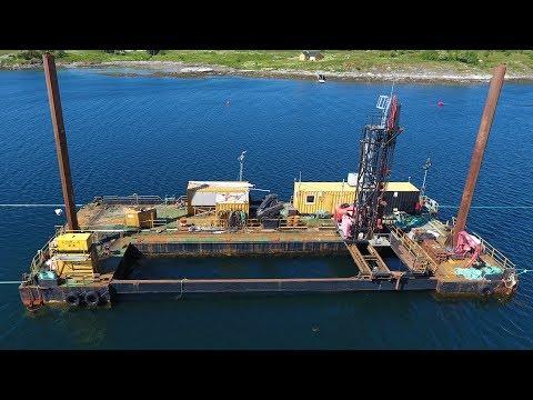Drilling barge Jupiter