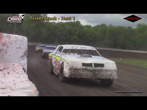 Street Stock Heats - Casino Speedway - 6/24/18