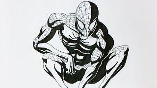 Jazza draws SPIDER-MAN in  UNDER 60 SECONDS!