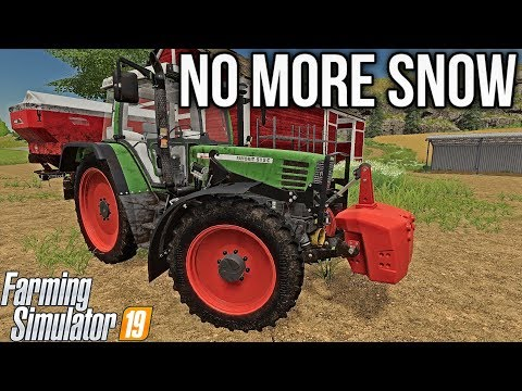 GOODBYE SNOW! ALL OF IT! | Farming Simulator 19 (Seasons)