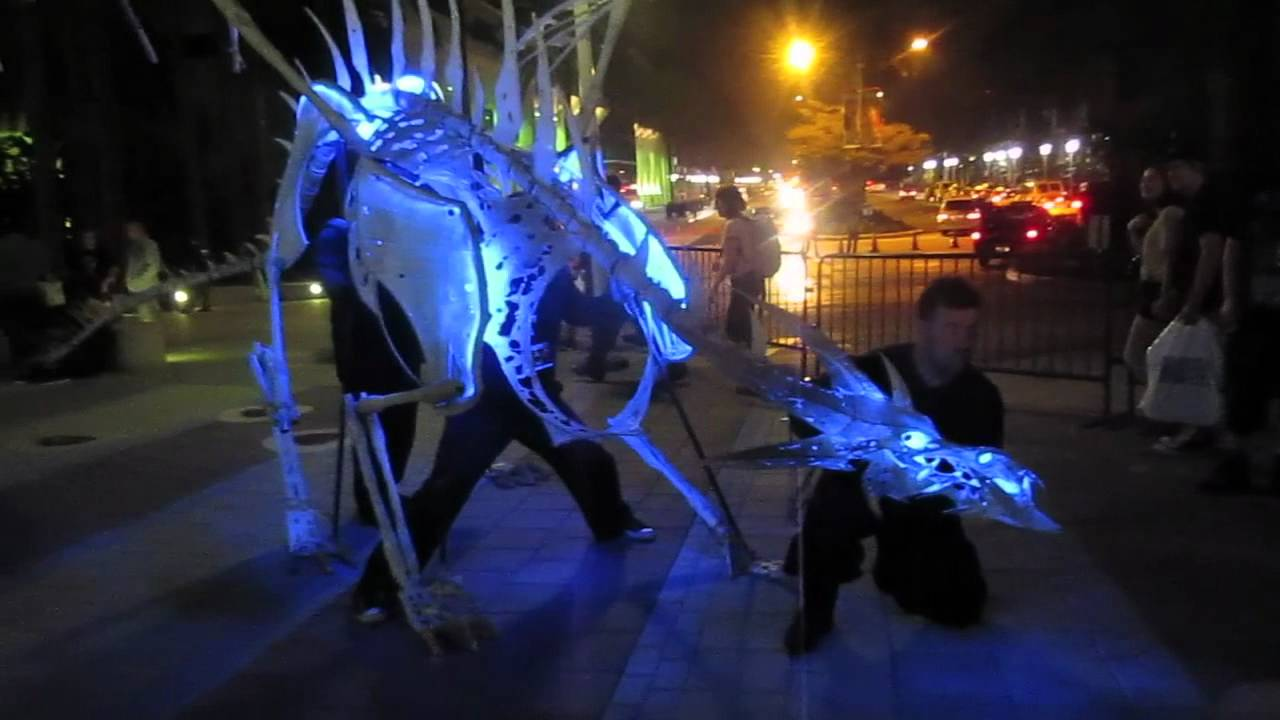 & BlizzCon 2011: A Two-Man Frost Dragon Costume - YouTube