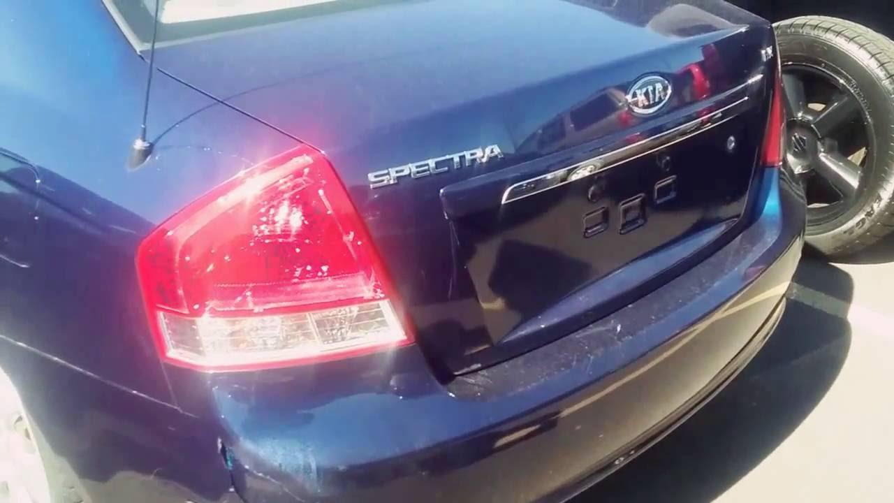 2007 Kia Spectra Ex 5 Spd Start Up Walkaround And Review