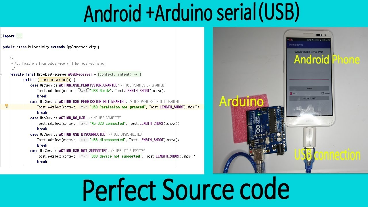 Android arduino usb otg communication perfect guide