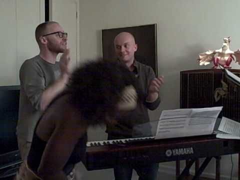Broadway in South Africa Rehearsal with Composer Matt Gould and Dave Hahn