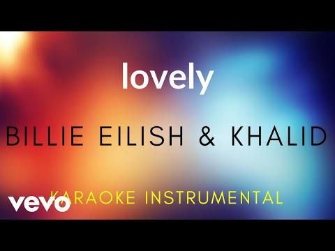 Billie Eilish, Khalid - Lovely (Karaoke Instrumental)