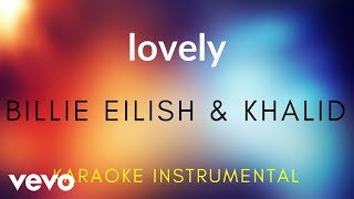 Billie Eilish Khalid lovely Karaoke Instrumental.mp3