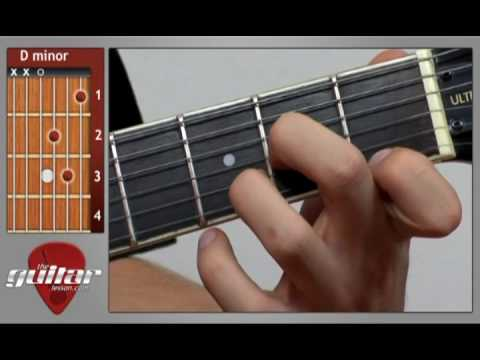 D Minor Chord - Dm Guitar Chord - YouTube