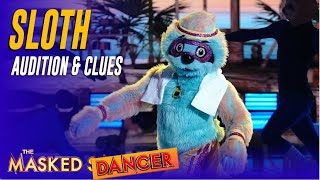 The Masked Dancer SLOTH: Audition, Clues and Judges Guesses!