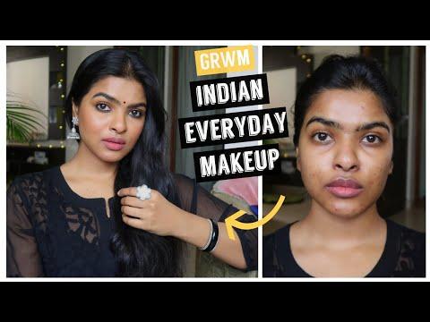 Easy & Simple Indian Makeup Look 2020 | GRWM | Shalini Mandal