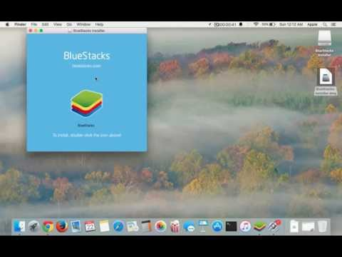 How to install Bluestacks on Mac OS X (El Capitan)